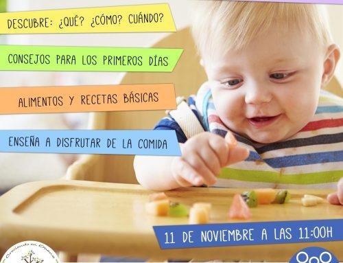 Taller Baby-Led Weaning (BLW): 11 de noviembre a las 11:00h en Ohana (Chiclana)