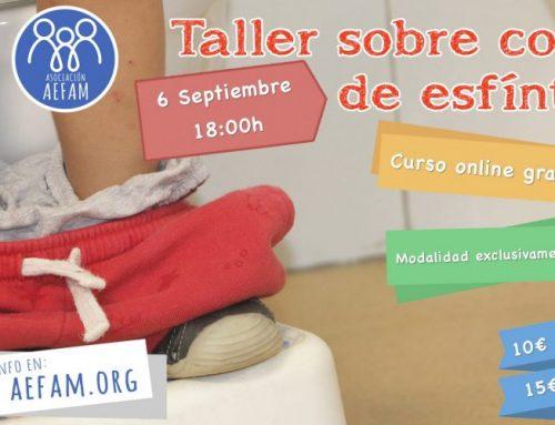 Taller de control de esfínteres: 6 de Septiembre a las 18:00h en Mimitos (Cádiz)
