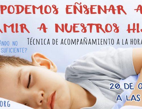 Taller de acompañamiento en el sueño: 20 de Octubre a las 11:00h en Mimitos (Cádiz)