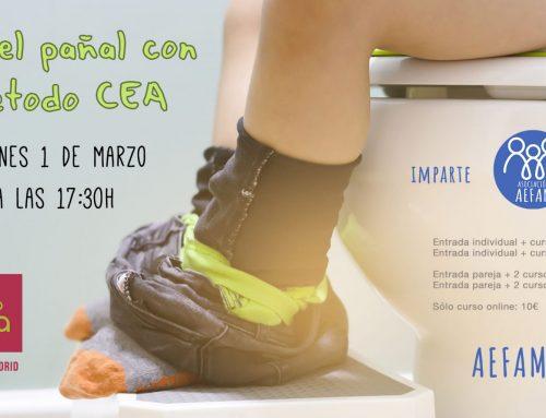 Taller de control de esfínteres: 1 de Marzo a las 17:30h en El último Koala (Madrid)