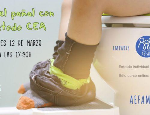 Taller de control de esfínteres: 12 de Marzo a las 17:30h en Mimitos (Cádiz)