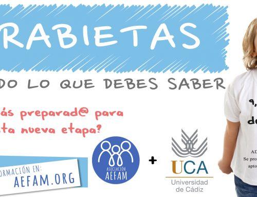 Taller gratuito sobre las rabietas en colaboración con la Universidad de Cádiz